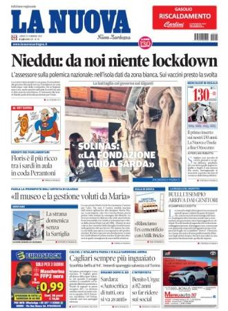 La Nuova Sardegna - 15/02/2021