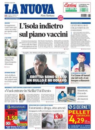 La Nuova Sardegna - 19/02/2021
