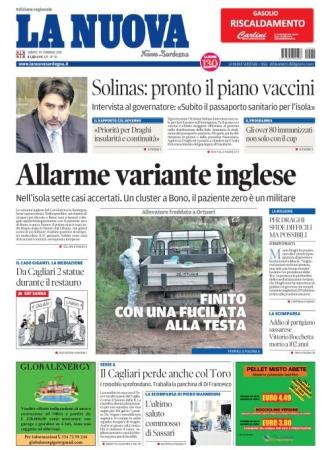 La Nuova Sardegna - 20/02/2021