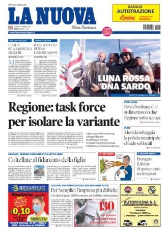 La Nuova Sardegna - 22/02/2021