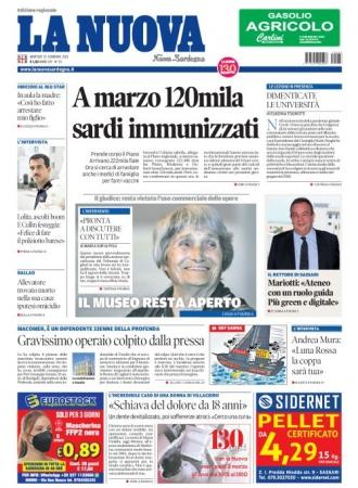 La Nuova Sardegna - 23/02/2021
