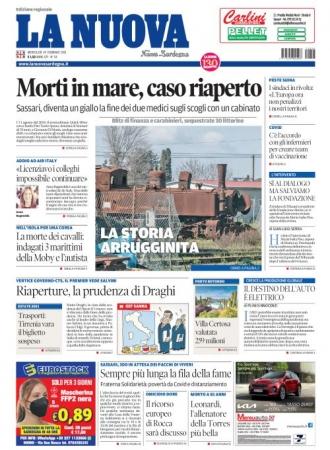 La Nuova Sardegna - 24/02/2021