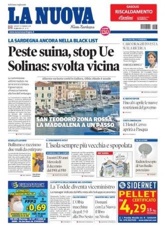 La Nuova Sardegna - 25/02/2021