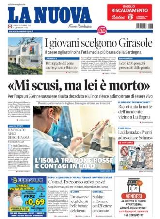 La Nuova Sardegna - 26/02/2021