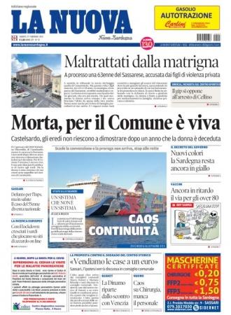 La Nuova Sardegna - 27/02/2021