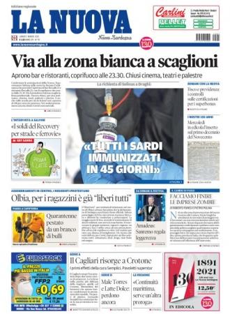 La Nuova Sardegna - 01/03/2021